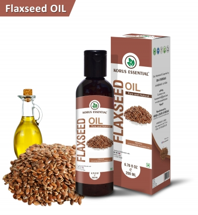 Pure Flaxseed Oil 200ml Pack
