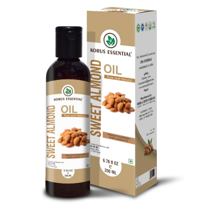Pure Sweet Almond Oil 200ml Pack